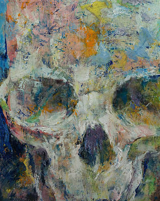 Drips Painting - Pharaoh by Michael Creese