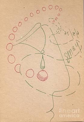 Drawing - Pharaoh Profile 1 by Rod Ismay