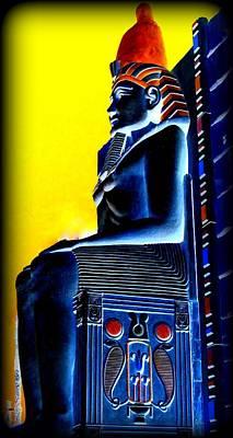 Pharaoh's Lost Kingdom 4 Art Print by Randall Weidner