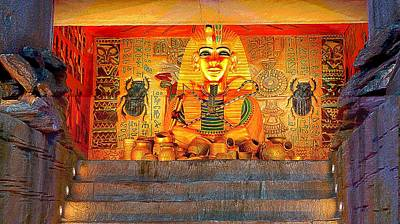 Photograph - Pharaohs Tomb by Ian Gledhill