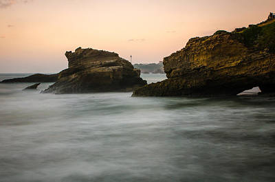 Photograph - Phare De Biarritz by Thierry Bouriat