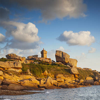 Photograph - Phare De Ploumanach Brittany by Colin and Linda McKie