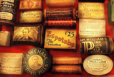 Doctors Photograph - Pharmacist - The Druggist by Mike Savad