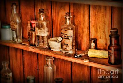 Apothecary Photograph - Pharmacy - A Bottle Of Poison by Paul Ward