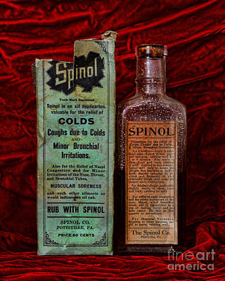 Mortar Photograph - Pharmacy - Cold Remedy by Paul Ward
