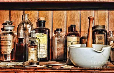 Medicine Photograph - Pharmacy - Mixing Bowl by Paul Ward