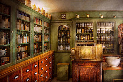 Pharmacy - Room - The Dispensary Art Print by Mike Savad