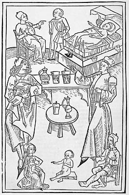 Pharmacy Scenes, 16th Century Art Print by Spl