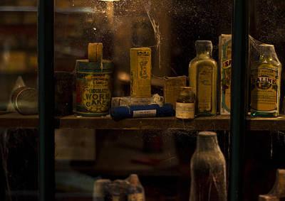 Tin Photograph - Pharmacy Shelves 2 by Paul Howarth