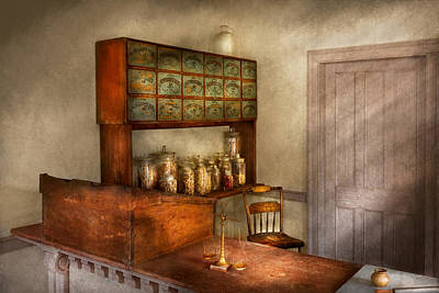 Healer Photograph - Pharmacy - The Herbalist by Mike Savad