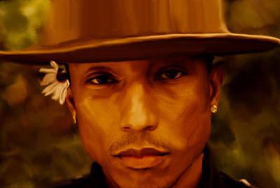 Pharrell Williams Happy Art Print