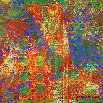 Abstract Energy Art Painting - Phase Series - Next by Moon Stumpp
