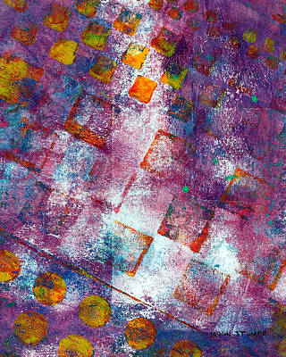 Abstract Energy Art Painting - Phase Series - Picking Up The Pieces by Moon Stumpp
