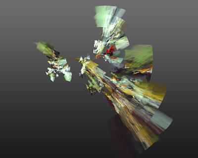Colorful Digital Art - Pheasant Hunter by Betsy Jones