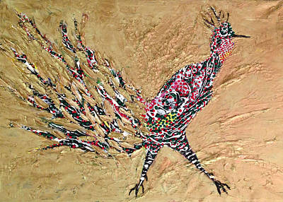 Painting - Pheasant. by Sima Amid Wewetzer