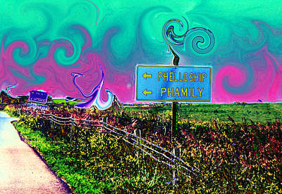 Phellowship And Phamily Art Print