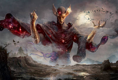 Fantasy Digital Art - Phenax God Of Deception by Ryan Barger