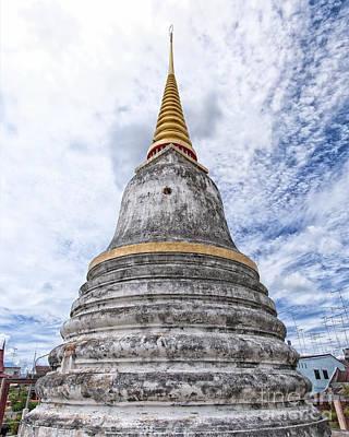 Urban Abstracts - Phetchaburi Temple 14 by Antony McAulay