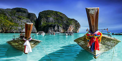 Photograph - Phi Phi Islands by Shannon Rogers