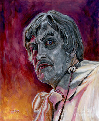 Painting - Phibes by Mark Tavares