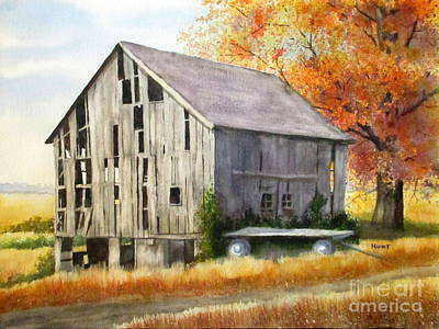 Painting - Phiddy's Barn by Shirley Braithwaite Hunt