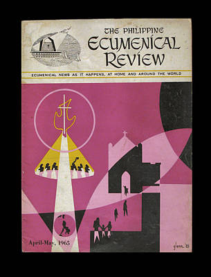 Painting - Phil Ecumenical Review 1965 B by Glenn Bautista