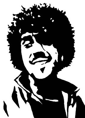 Phil Lynott From Thin Lizzy Original by Monofaces