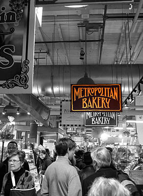 Photograph - Philadelphia - Metropolitan Bakery by Richard Reeve