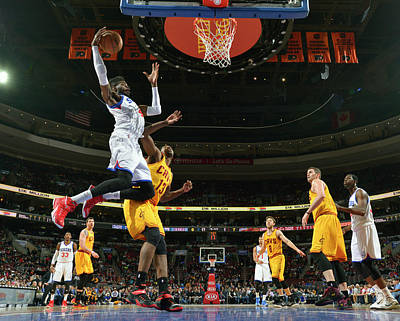 Photograph - Philadelphia 76ers V Cleveland Cavaliers by David Dow