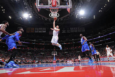 Photograph - Philadelphia 76ers V Los Angeles by Juan Ocampo
