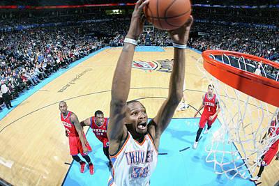 Photograph - Philadelphia 76ers V Oklahoma City by Layne Murdoch Jr.