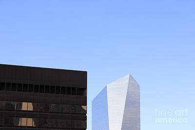 Arcitecture Photograph - Philadelphia Abstract by Neil Overy