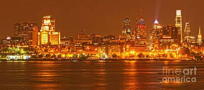 Photograph - Philadelphia Across The Delaware by Adam Jewell