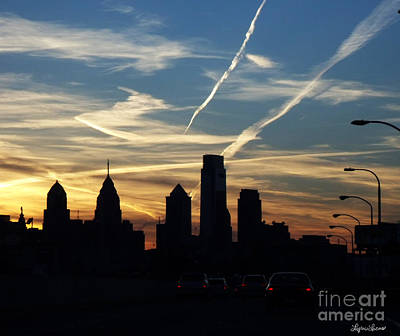 Photograph - Philadelphia At Dusk by Lyric Lucas