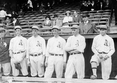 Philadelphia Athletics Photograph - Philadelphia Athletics, 1914 by Granger