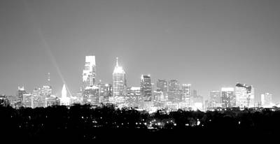 Photograph - Philadelphia City Glow by Deborah  Crew-Johnson