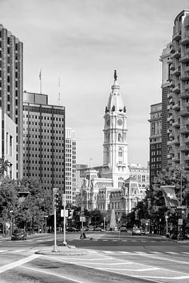 Photograph - Philadelphia City Hall by Boris Mordukhayev