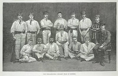 Sports Illustrated Photograph - Philadelphia Cricket Team by British Library