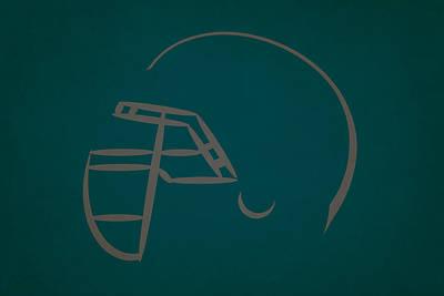 Philadelphia Eagles Helmet Art Print by Joe Hamilton