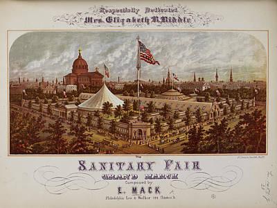 State Of Pennsylvania Photograph - Philadelphia Fairground by British Library