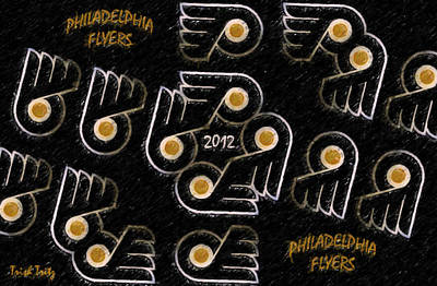 Flyers Photograph - Philadelphia Flyers - 2012 by Trish Tritz