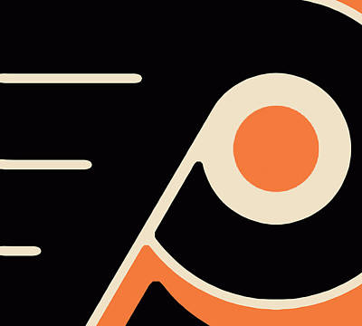 Painting - Philadelphia Flyers by Tony Rubino