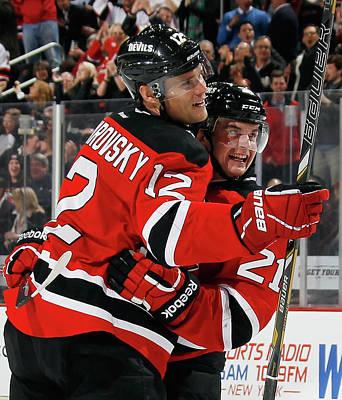 Photograph - Philadelphia Flyers V New Jersey Devils by Bruce Bennett