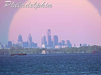 Philadelphia  Art Print by Tom Gari Gallery-Three-Photography