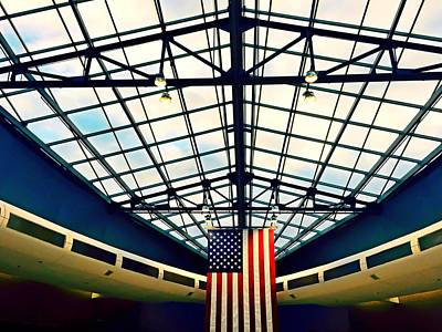 Photograph - Philadelphia International Airport  by Chris Montcalmo
