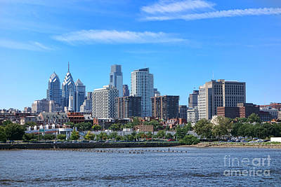 Philadelphia Living Art Print by Olivier Le Queinec