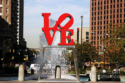 Photograph - Philadelphia Love by John Rizzuto