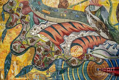 Philadelphia Mural Art Print by John Greim