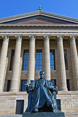 Photograph - Philadelphia Museum Of Art John Marshall Chief Justice Of The Us  by David Zanzinger
