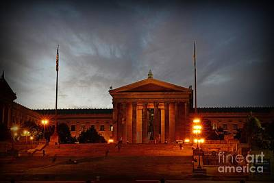 Philadelphia Museum Of Art Art Print by Paul Ward